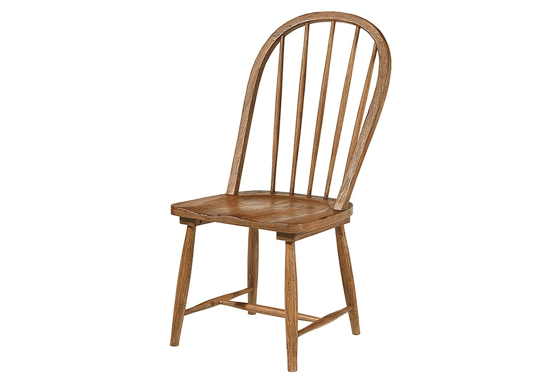 Trendy Magnolia Home Kempton Bench Side Chairs With Regard To Penland's Furniture Windsor Hoop Chair, Bench Finish (Set Of 2) (View 16 of 20)