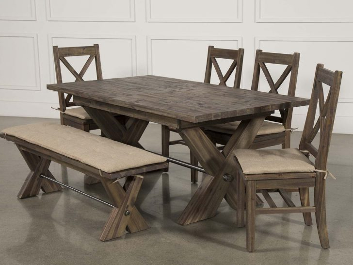 Trendy Mallard 6 Piece Extension Dining Sets Inside Living Spaces Dining Room Tables # (View 11 of 20)
