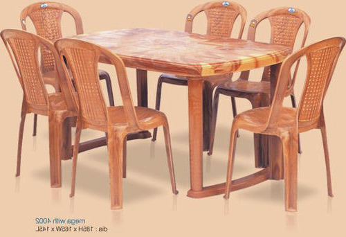 Trendy Nilkamal Dining Tables – Six Seater Dining Table Wholesale Trader Regarding Dining Tables For Six (Gallery 16 of 20)
