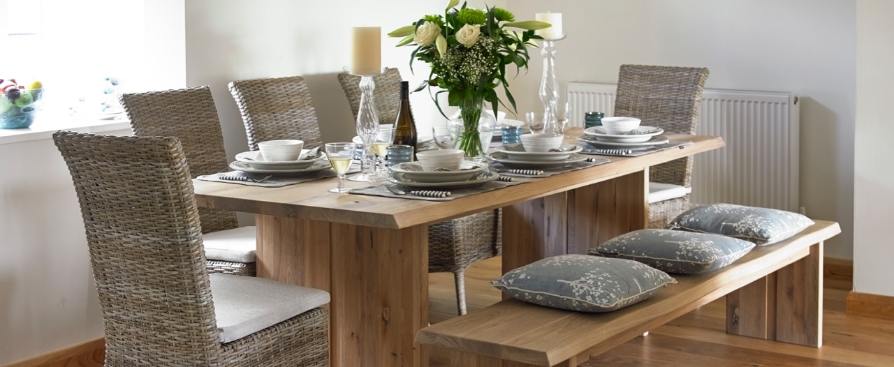 Trendy Oak Dining Sets With Best Oak Dining Tables (View 18 of 20)