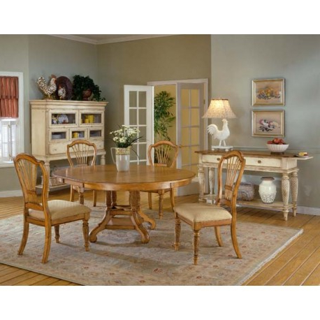 Trendy Oak Dining Sets Within Wilshire 5pc (View 9 of 20)