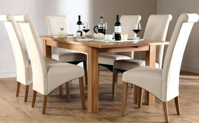 Trendy Oak Dining Table Chairs – Modern Computer Desk Cosmeticdentist With Oak Extendable Dining Tables And Chairs (Gallery 20 of 20)