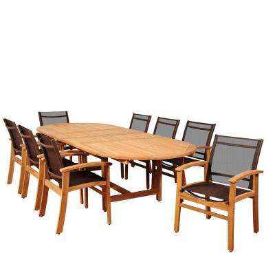 Trendy Outdoor Brasilia Teak High Dining Tables Inside Standard Dining Height – Sling Patio Furniture – Teak – Patio Dining (View 3 of 20)