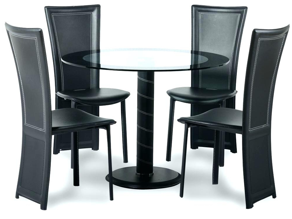 Trendy Small Dining Table Set For 4 Small Kitchen Table And Chairs Set With Regard To Small Round Dining Table With 4 Chairs (View 16 of 20)