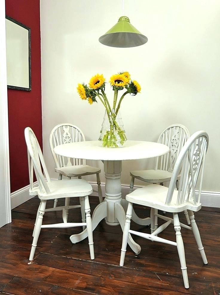 Trendy Small Round White Dining Tables In Swingeing Black And White Dining Room Chairs Round White Dining (View 15 of 20)