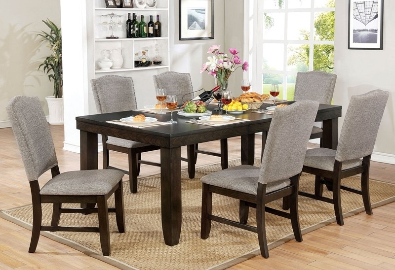 Trendy Teagan Side Chairs With Regard To Furniture Of America (View 8 of 20)