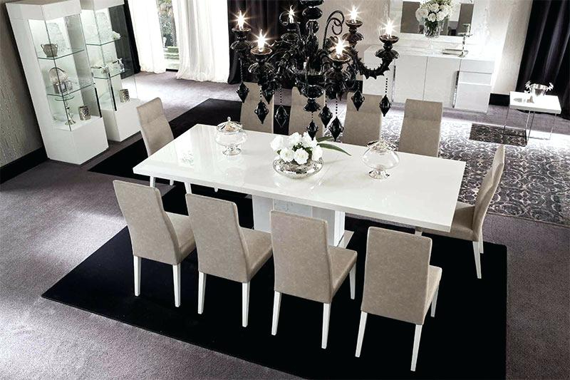 Trendy White Gloss Dining Set High Gloss Furniture White High Gloss Dining Regarding High Gloss Dining Tables Sets (View 13 of 20)