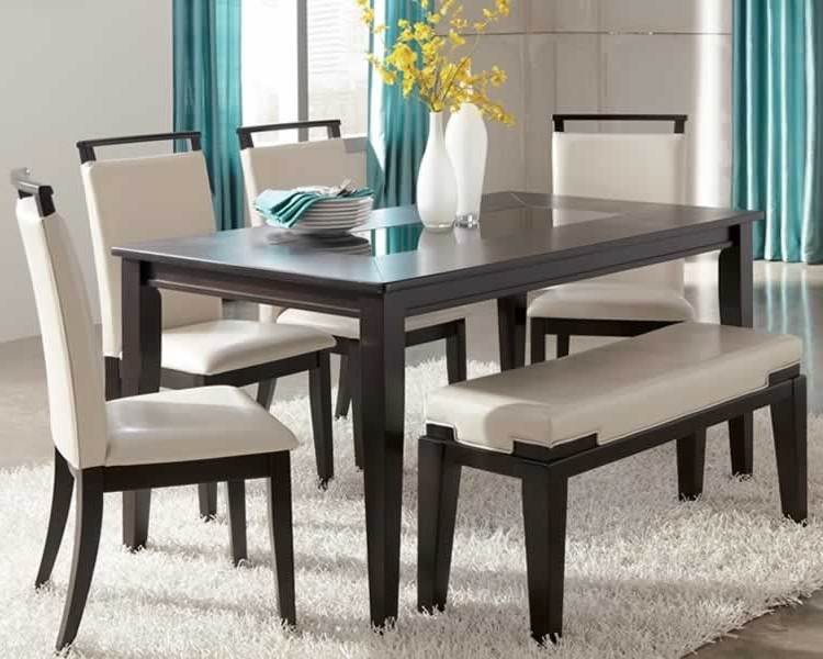 Trishelle Contemporary Dining Set Intended For Contemporary Dining Sets (Gallery 17 of 20)