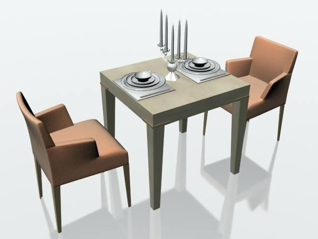 Two Chair Dining Tables Regarding Well Liked Two Seat Table Two Seating Dining Table Medium Size Of Two Seat (View 17 of 20)