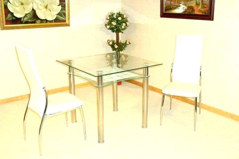 Two Chair Dining Tables Within Latest Dining Table And 2 Chairs Breakfast Set – Castrophotos (View 19 of 20)