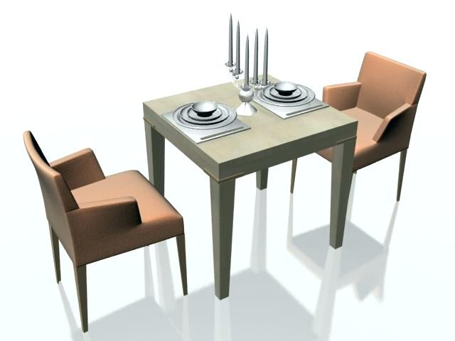 Two Person Dining Table Sets Throughout Famous 2 Person Dining Set 2 Person Dining Room Table 4 Person Dining Table (Gallery 12 of 20)