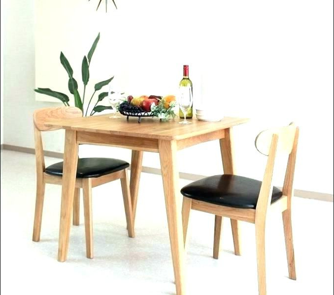 Two Person Dining Table Sets With Regard To Current Two Person Dining Tables – Soulpower (Gallery 5 of 20)