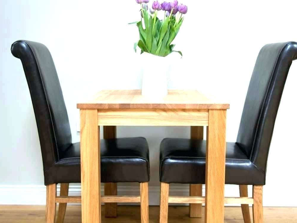 Two Person Dining Tables Within 2017 Two Person Dining Tables – Soulpower (View 16 of 20)