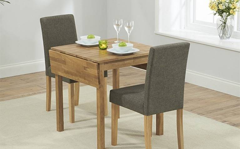 Two Seater Dining Tables Intended For Fashionable  (View 13 of 20)