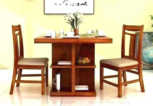 Two Seater Dining Tables Within Preferred 2 Seater Dining Table Set – Dreamseekers (Gallery 14 of 20)