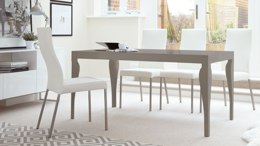 Uk Delivery In Well Liked Gloss Dining Sets (View 7 of 20)