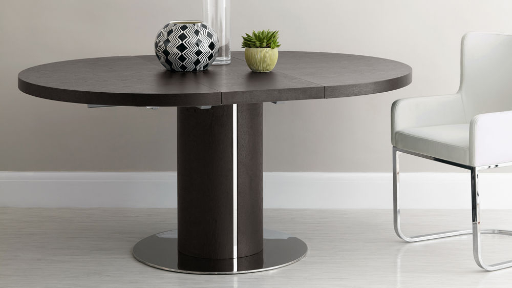 Uk Pertaining To Dark Round Dining Tables (Gallery 3 of 20)