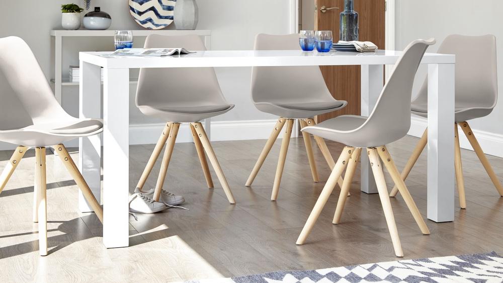 Uk Regarding White Gloss Dining Room Furniture (View 8 of 20)