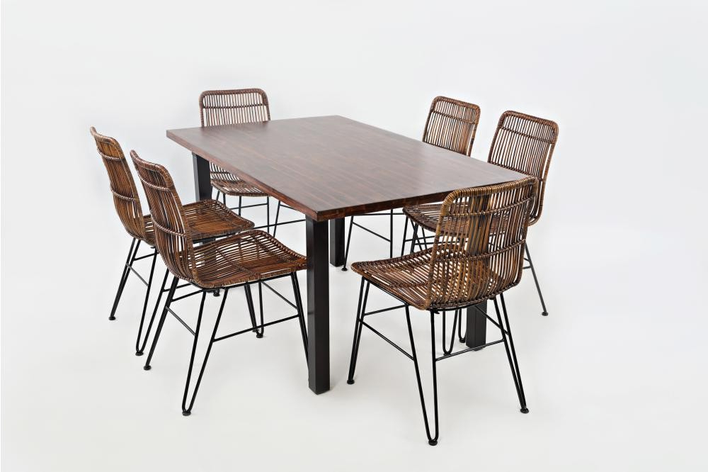 Urban Dweller Dining Table With Six Chairs Intended For Preferred Dining Tables For Six (View 17 of 20)