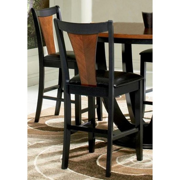 Valencia 3 Piece Counter Sets With Bench In Most Recent Shop Valencia Black/ Cherry Counter Stools (Set Of 2) – Free (View 11 of 20)