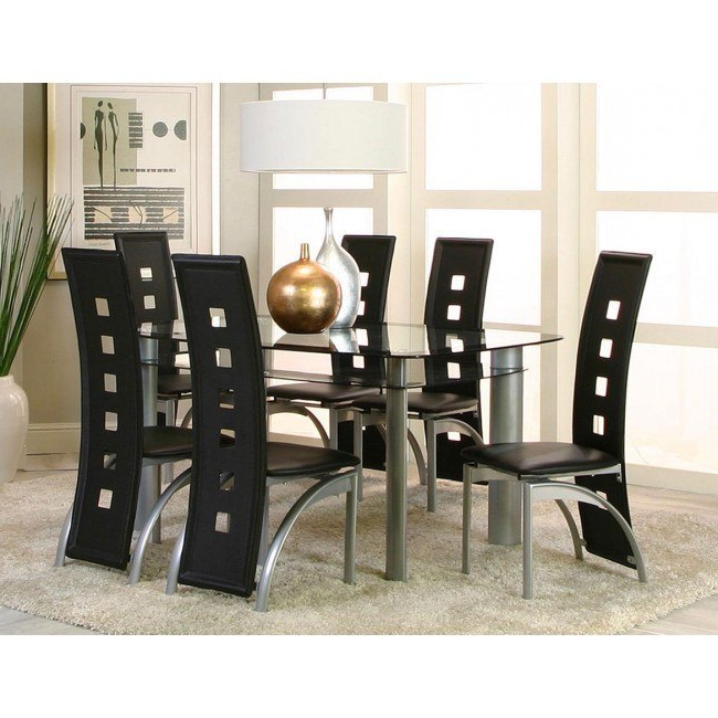 Valencia 3 Piece Counter Sets With Bench With Regard To Well Liked Valencia Rectangular Dining Room Set – Dining Room And Kitchen (View 15 of 20)