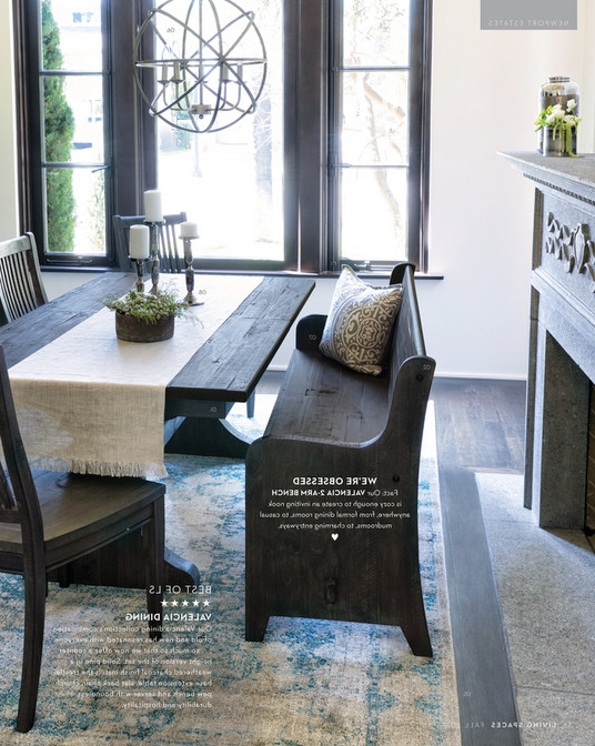 Featured Photo of Valencia 72 Inch Extension Trestle Dining Tables