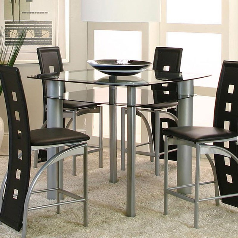 Valencia Counter Height Table – Dining Room And Kitchen Furniture With Regard To Fashionable Valencia 5 Piece Round Dining Sets With Uph Seat Side Chairs (Gallery 5 of 20)