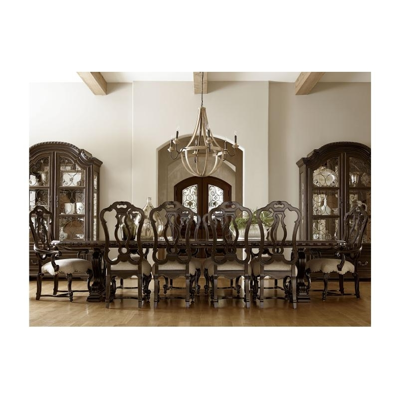 Valencia Side Chairs Throughout Widely Used 246656 Tab Universal Furniture Castella Valencia Dining Table (View 17 of 20)