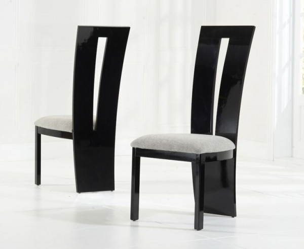 Valerie Black Gloss Dining Chair Inside Famous Black High Gloss Dining Chairs (View 18 of 20)