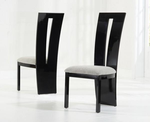 Valerie Black Gloss Dining Chair Inside Famous Black High Gloss Dining Chairs (Gallery 4 of 20)