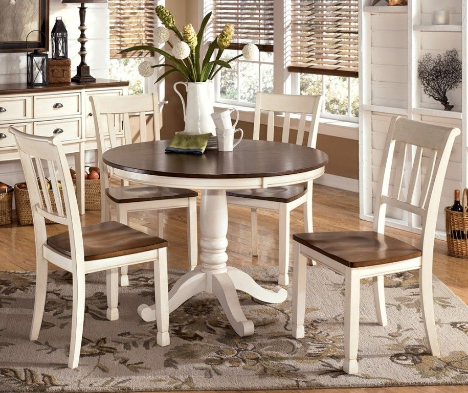 Varied Round Dining Table Sets And Their Kinds: Simple Dining Set For Most Popular Cheap Round Dining Tables (View 18 of 20)