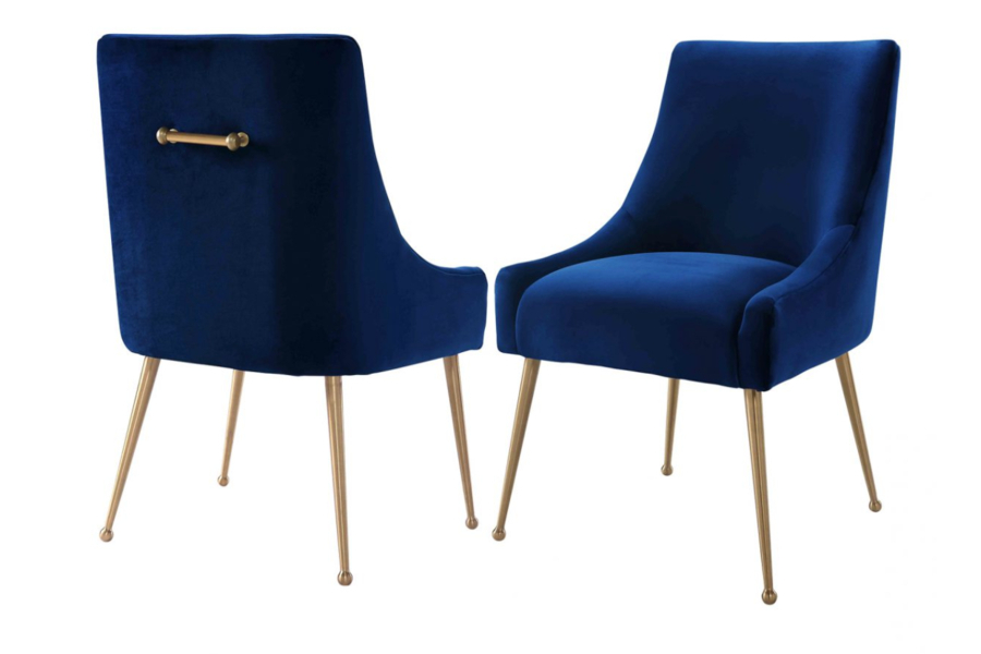 Velvet Dining Chairs With Regard To Preferred Blue Velvet Dining Chairs (Gallery 4 of 20)