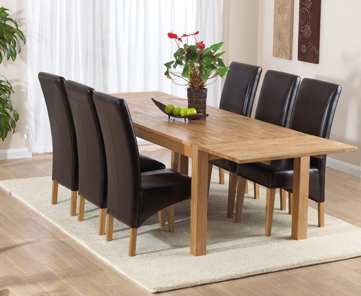 Verona Dining Tables Throughout Most Up To Date Buy Mark Harris Verona Solid Oak Rectangular Extending Dining Table (Gallery 5 of 20)