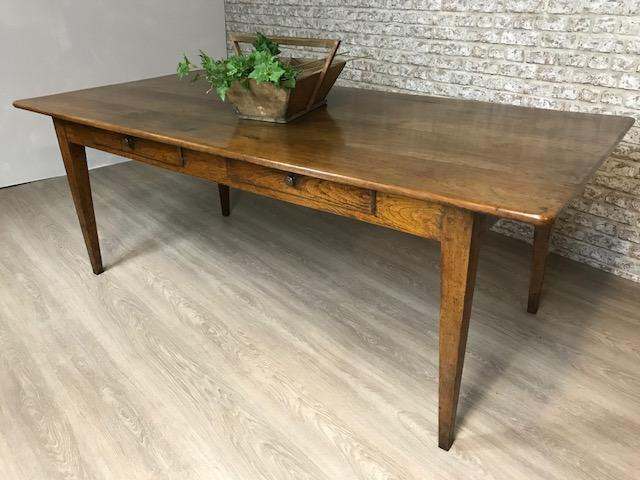 Very Wide French Farmhouse Table Kitchen Or Dining Room , Antique Regarding Well Liked French Farmhouse Dining Tables (Gallery 7 of 20)