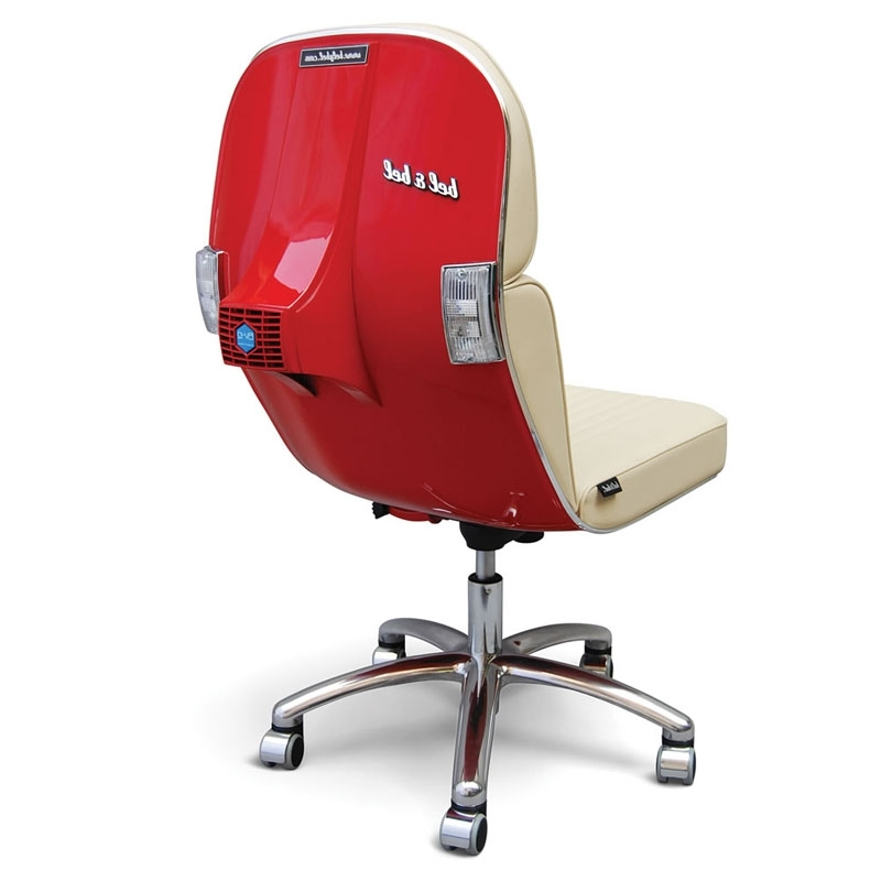 Vespa Side Chairs In Favorite The 19 Coolest Office Chairs On The Planet – Page 2 – Techrepublic (Gallery 7 of 20)