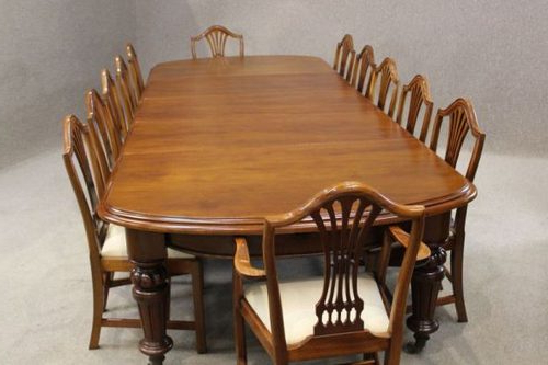 Victorian Mahogany Extending Dining Table – Antiques Atlas With Latest Mahogany Extending Dining Tables And Chairs (View 7 of 20)