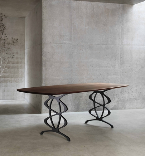 Vienna Dining Tables For Most Current The Vienna – Modern Dining Table – Tom Faulkner (View 5 of 20)