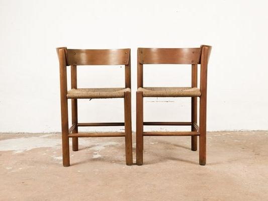 Vintage Chairsmogens Lassen For Fritz Hansen, Set Of 2 For Sale Intended For Favorite Lassen Side Chairs (Gallery 8 of 20)