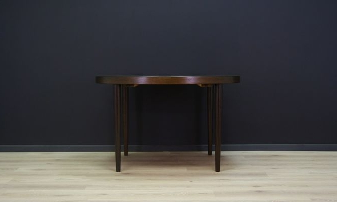 Vintage Danish Circular Oak Dining Table For Sale At Pamono Inside Preferred Circular Oak Dining Tables (Gallery 20 of 20)