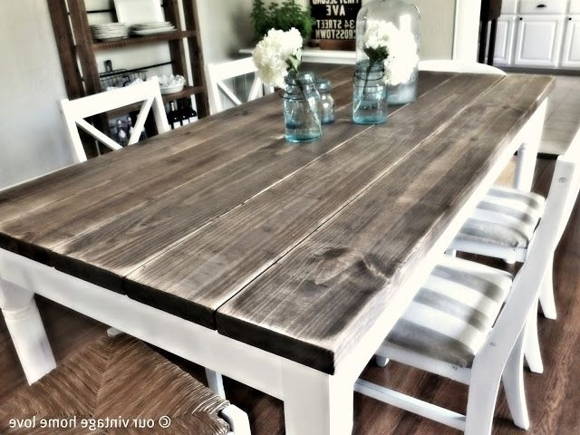 Vintage/rustic/country Intended For Barn House Dining Tables (View 2 of 20)