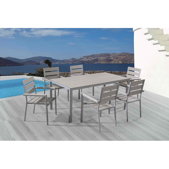 Wade Logan Bret 7 Piece Dining Set & Reviews (View 13 of 20)
