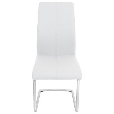 Wade Logan Mustafa Side Chair Upholstery: White (View 16 of 20)