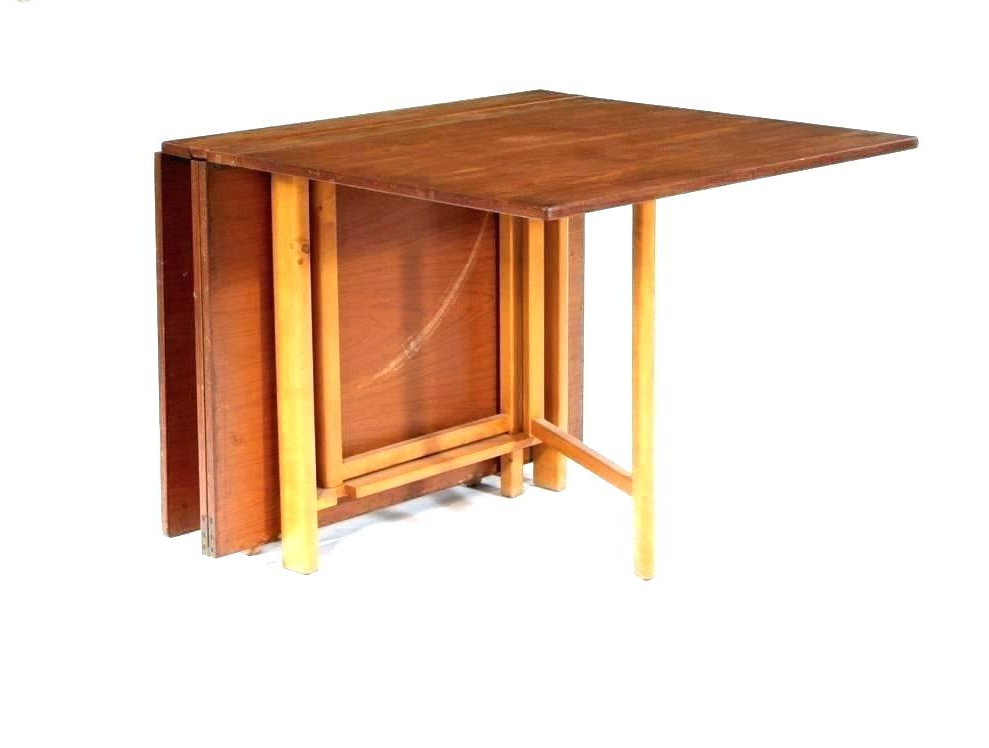 Wall Dining Table Mounted Drop Down Fold Full Size Of Folding Out With Regard To Current Foldaway Dining Tables (View 17 of 20)