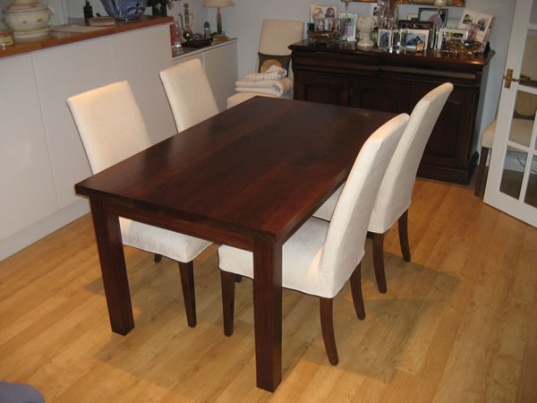 Walnut Dining Table Sets Inside Favorite Walnut Dining Table Sets – Durable Walnut Dining Table – Iomnn (View 3 of 20)