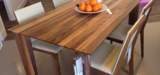 Walnut Dining Tables And Chairs Regarding Famous New! Solid Walnut Dining Table! ~ Made In Canada – Parc Modernparc (View 15 of 20)