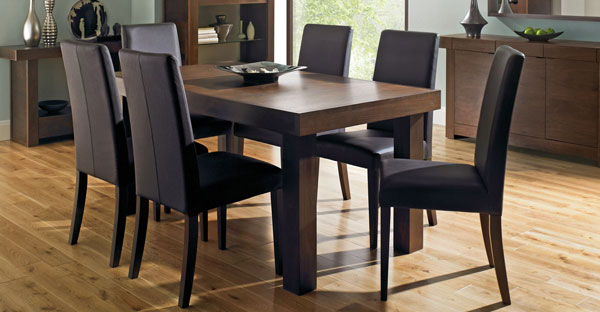 Walnut Dining Tables And Chairs Within Most Current Walnut Furniture: Bedroom, Dining & Living Collection – Cfs Uk (View 2 of 20)