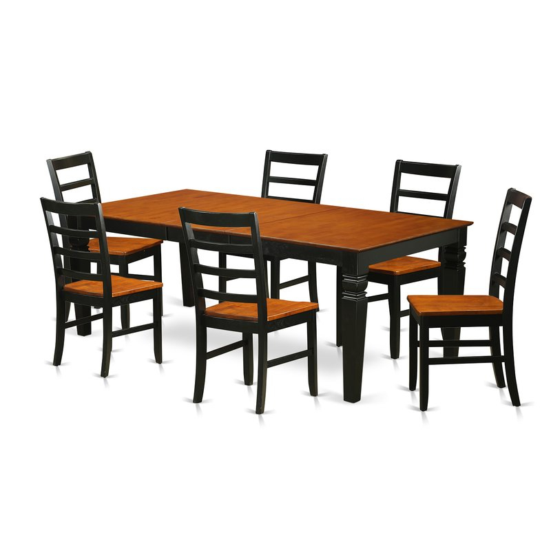 Featured Photo of Logan 7 Piece Dining Sets