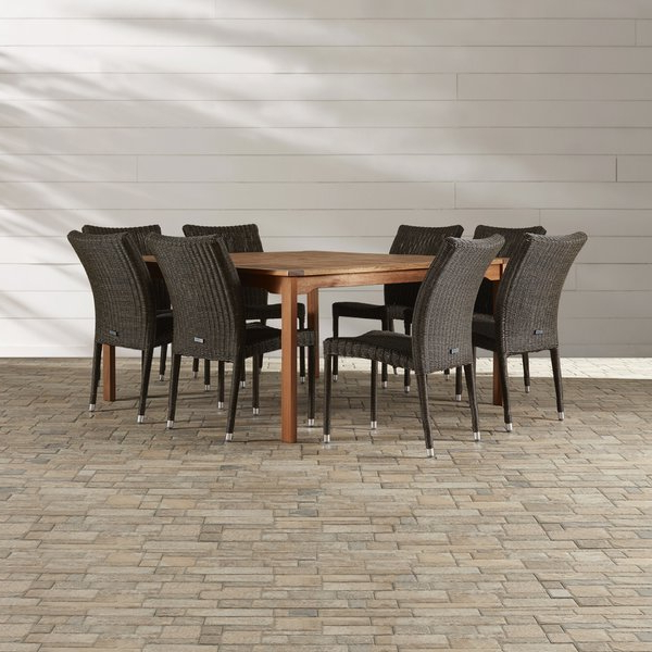 Wayfair For Market 7 Piece Dining Sets With Host And Side Chairs (View 14 of 20)