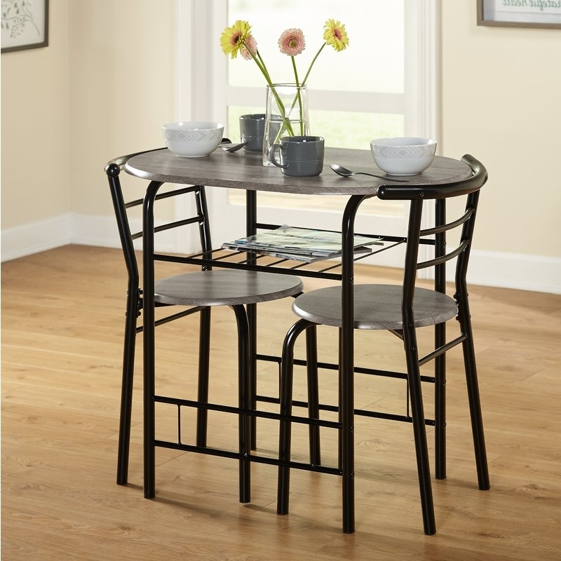 Wayfair In Compact Dining Sets (View 17 of 20)