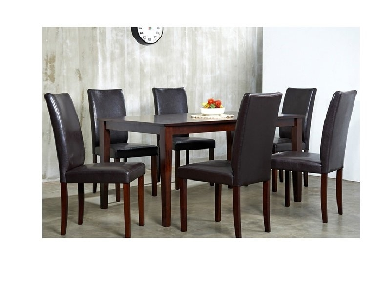 Wayfair In Latest Chandler 7 Piece Extension Dining Sets With Fabric Side Chairs (View 8 of 20)